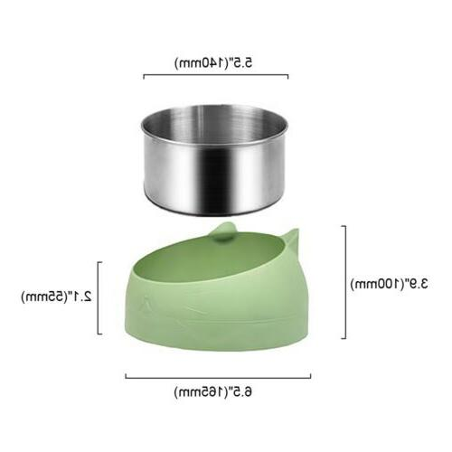 400ml Cat Bowl No Slip Elevated Stand fgs