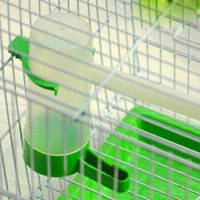 4Pcs Pack Pet Bird Parrot Water Feeder Automatic Water Feeding Bird Parts