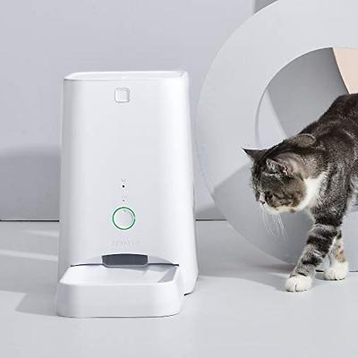 DOGNESS 6L Smart Feed Automatic Cat Feeder, Wi-Fi Enabled Pe