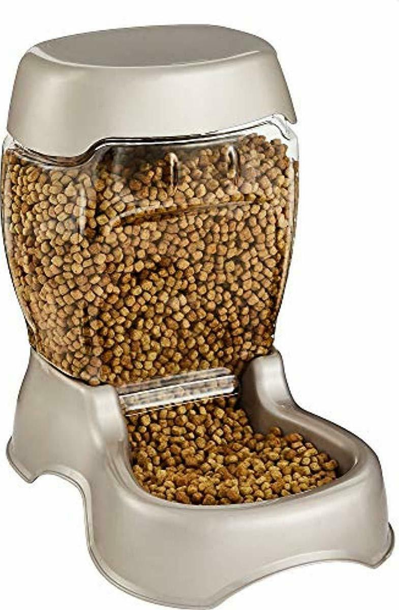 Petmate 6lb. Pet Feeder Automatic Spill-Free and Food