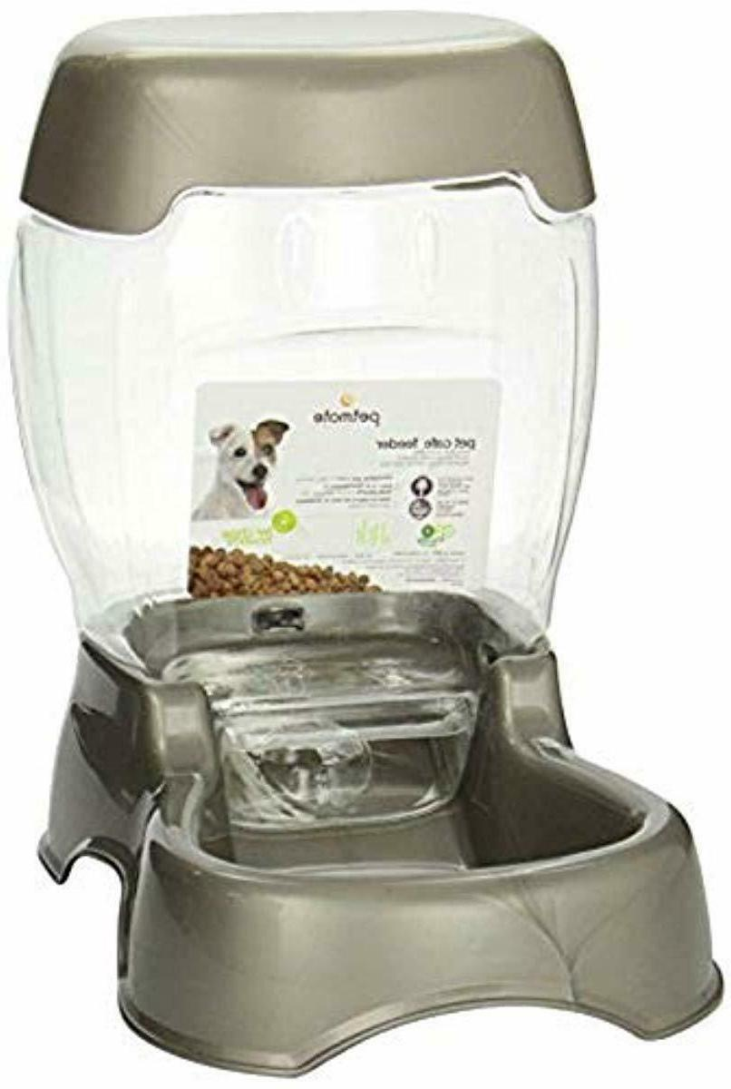 6lb pet feeder automatic refills spill free