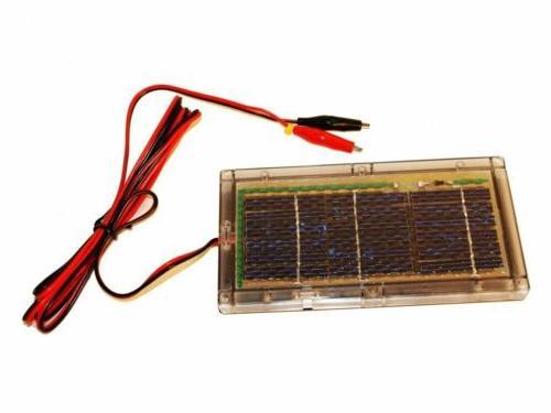 6v 6 volt solar panel battery charger