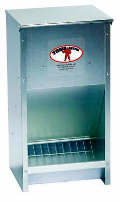 Miller 957772 Little Giant High Capacity Poultry Steel Feede
