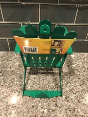 Adirondack Chair Cob Squirrel Hiatt Belle Fleur Green
