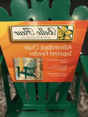 Adirondack Chair Corn Cob Squirrel Feeder Hiatt Belle Fleur