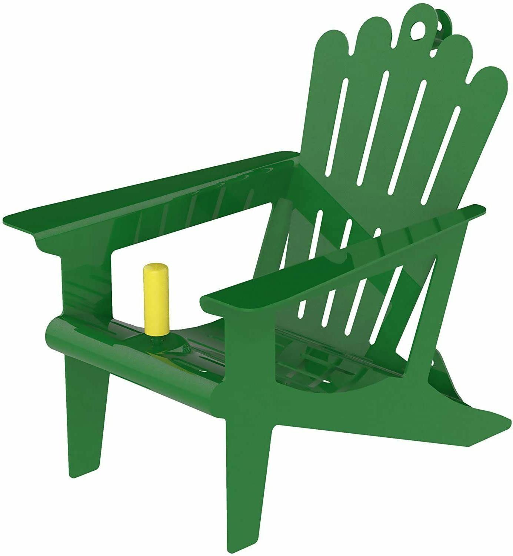 Adirondack Chair Squirrel Feeder - Green