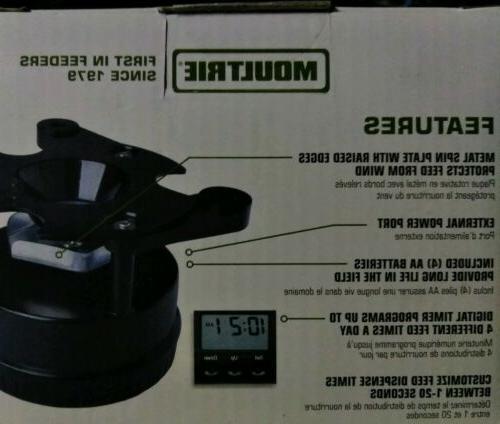 Moultrie Timer Kit Plate Setup Adjustable