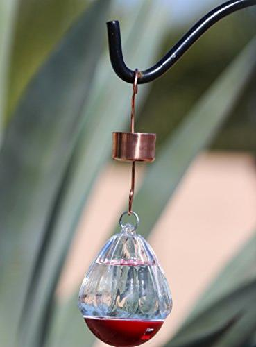 Skinny Ant MOAT FOR HUMMINGBIRD FEEDERS - Rid of & Safe and All Your Nectar 100% & Star Lovers!