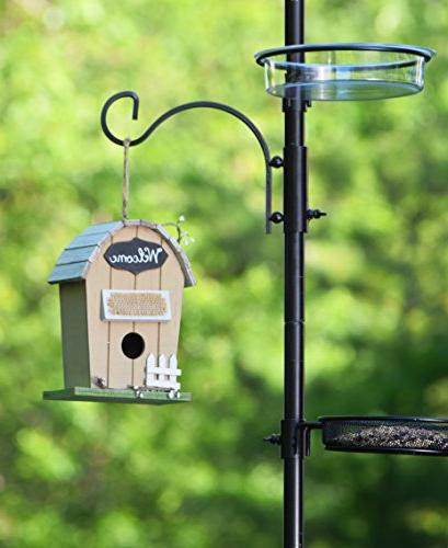 """Ashman Station 22"""" Wide x Tall , A Feeder Kit and Bird for Wild"""