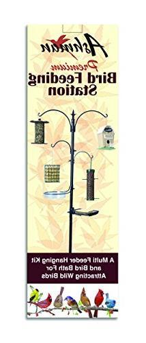 "Ashman Bird Feeding Station Kit, 22"" x 92"" , A Feeder Hanging Kit Bird for Wild"