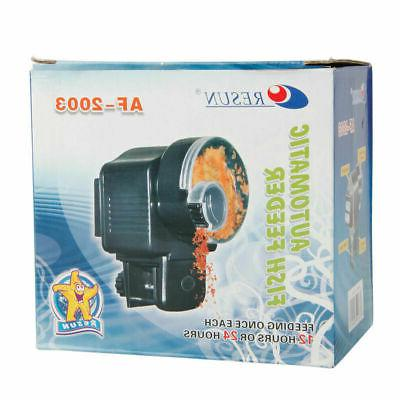 Automatic Aquarium Auto Adjustable Food Feeding Timer
