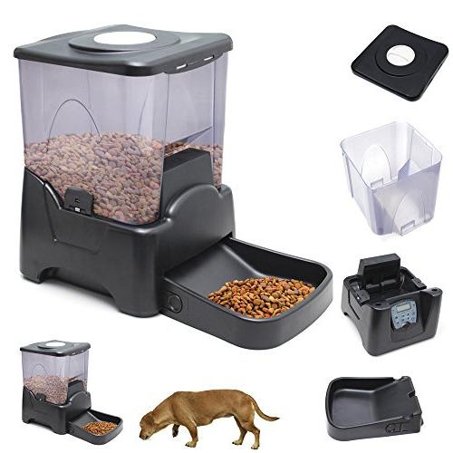 OxGord Automatic Programmable Dog Feeder Large Small