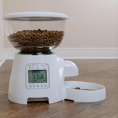 Cat Programmable Animal Food Bowl Auto