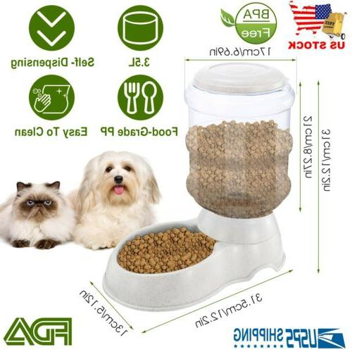 automatic pet feeder dog cat