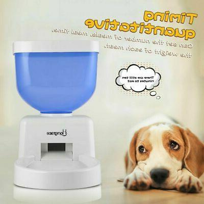 Automatic Cat Programmable Food Bowl Timed