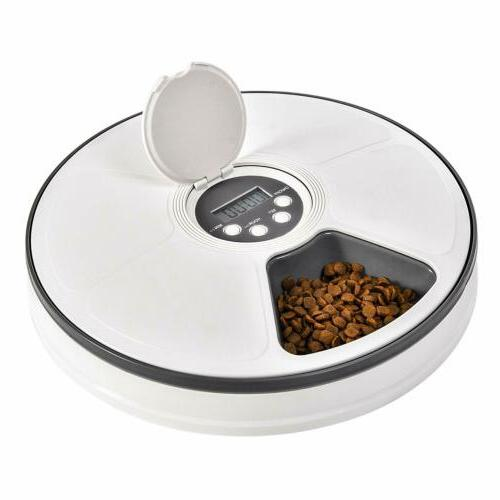 Automatic Pet Dispenser Dogs Small Animals Timed Self Meal