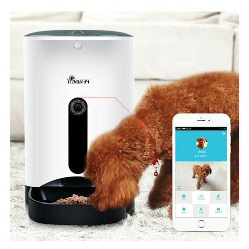 Automatic Pet Smart Cat Dog Eating Feeding Tools