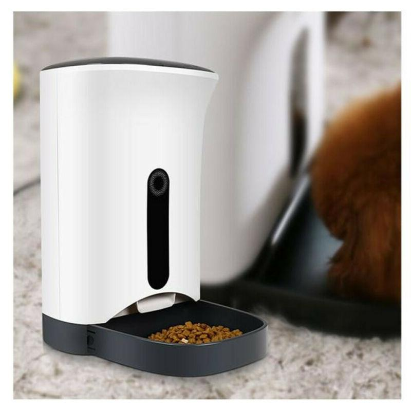 Automatic Pet Smart Feeder Dog Automatic Eating Tools