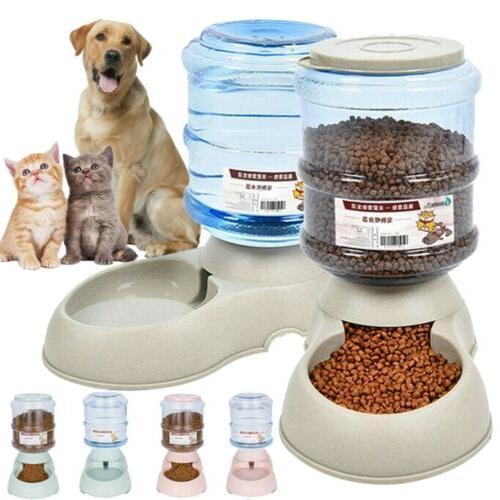 automatic pet food dispenser dog cat feeder