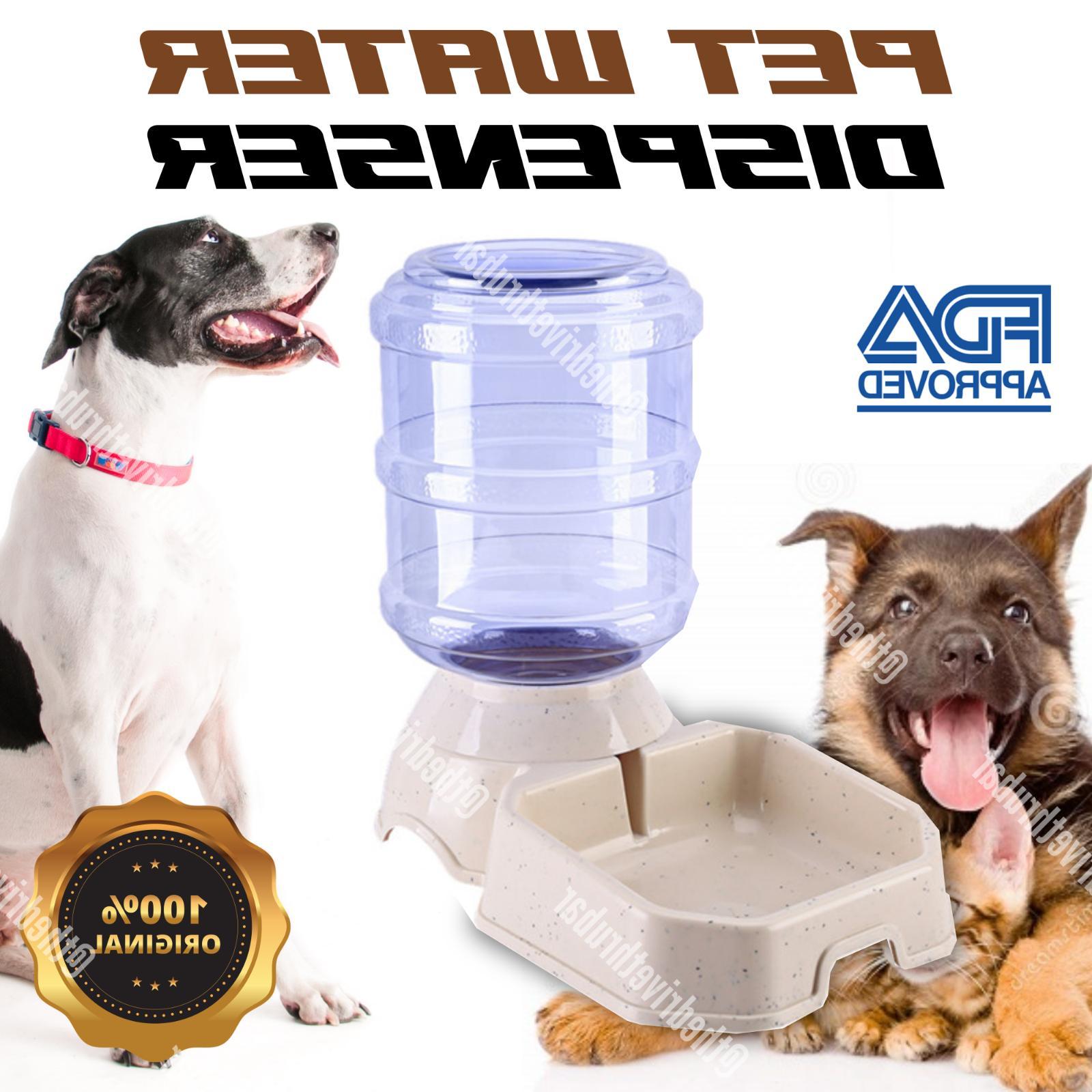 AUTOMATIC PET Feeder Puppy Food Feeding Bowl