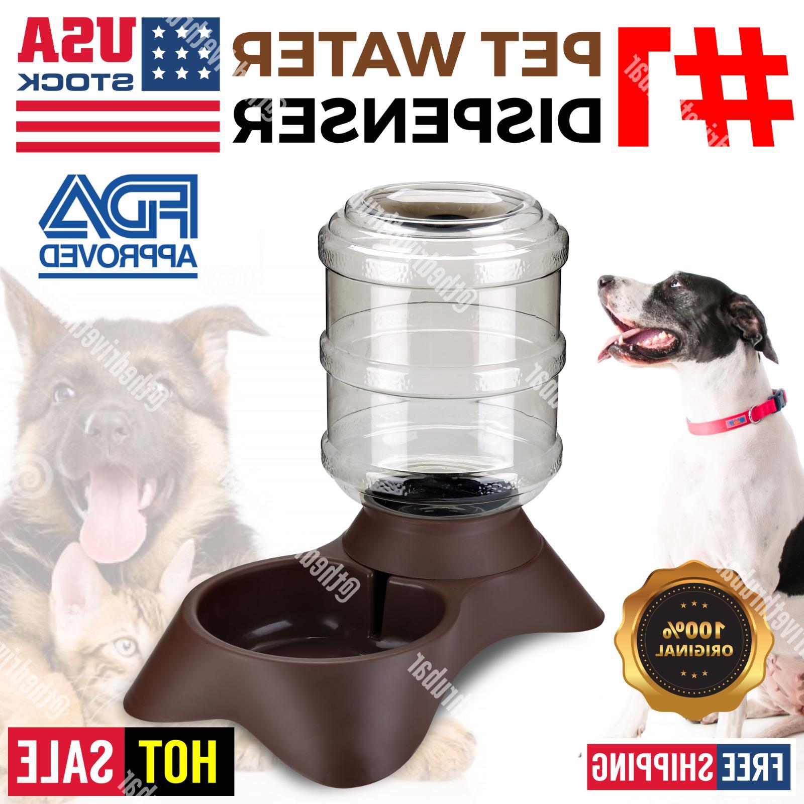 AUTOMATIC PET Feeder Puppy Feeding Bowl Cat