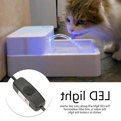 automatic pet water drinking feeder dispenser
