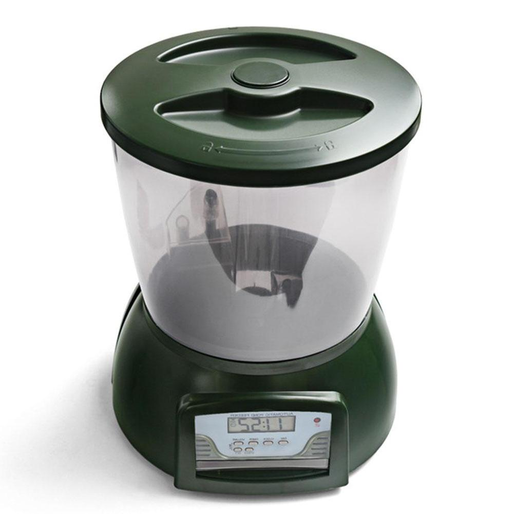 SaiDeng Automatic Pond Fish <font><b>Feeder</b></font> Fish