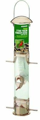 Gardman BA01137 Giant Heavy Duty Seed Feeder, Copper Finish,