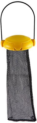 Gardman BA04820A Yellow Flip Top Thistle Feeder Mesh Bag, 4""
