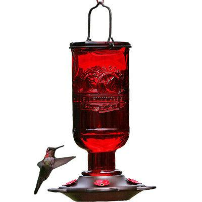 bee proof hummingbird feeder for outdoors ring