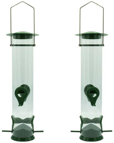 Sorbus Bird Feeder Tube Finches Seed More,