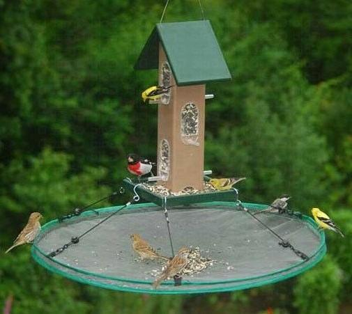 Bird Save Hanging or Pole Mount Feeders