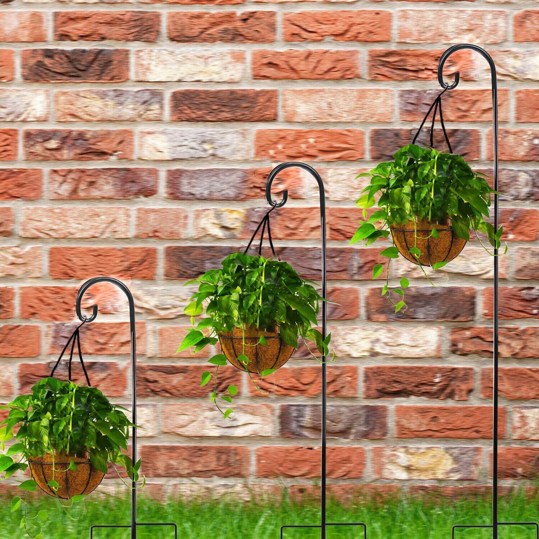 Cerbior Shepherd 65in/91in Plant Pole Decoration