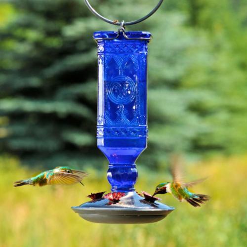 Blue Decorative Glass 16