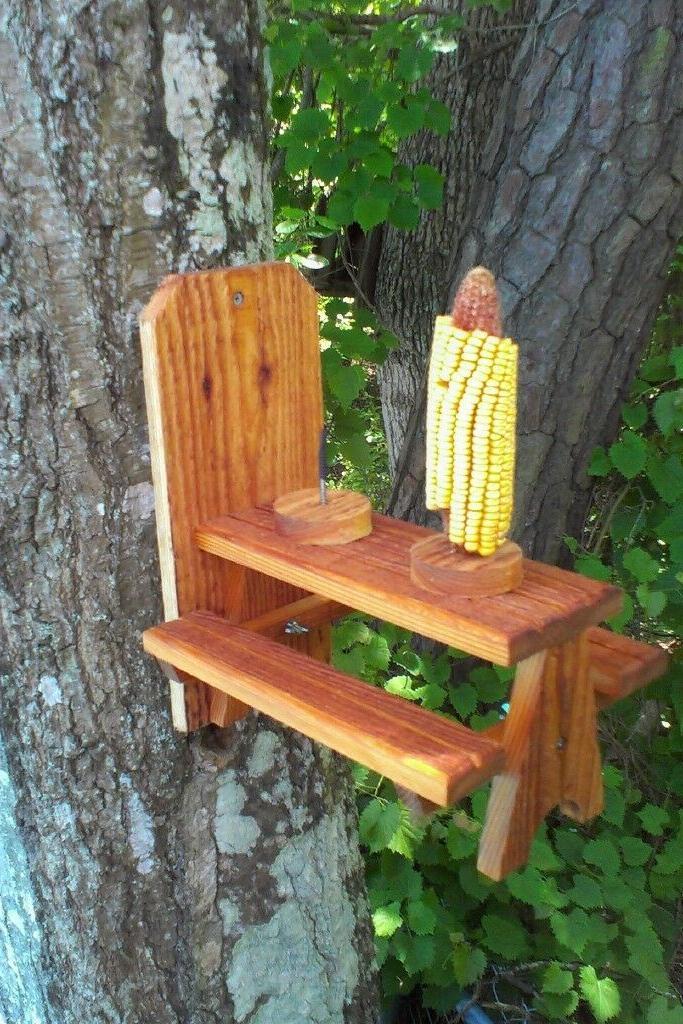 Cedar Table dual holders