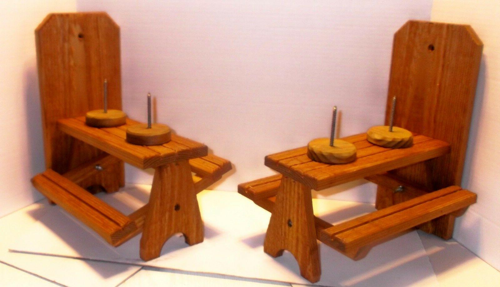 Cedar Picnic Table w/ dual holders