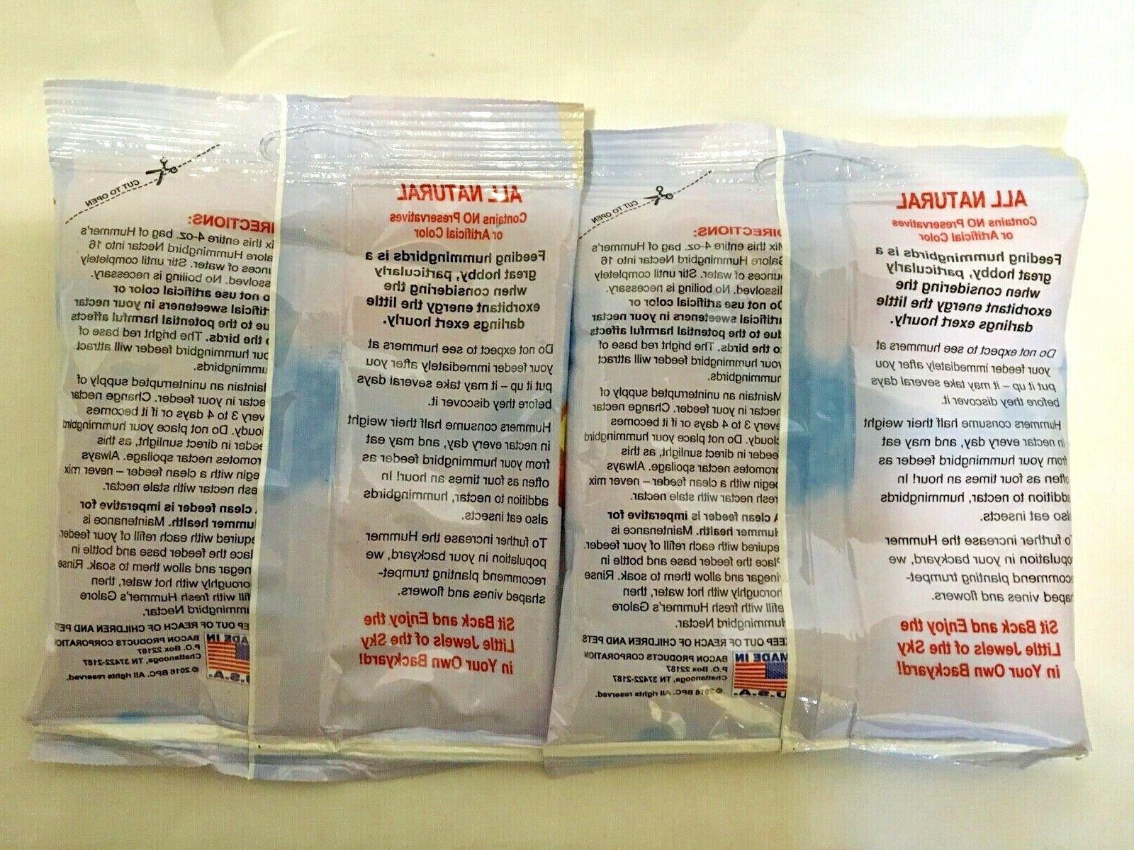 Clear Hummingbird Nectar No Boil 2 Pack Makes FREE Shipping