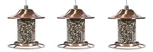 copper panorama bird feeder 312c