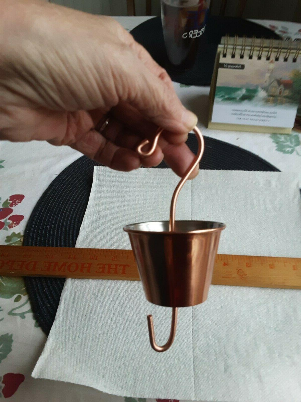 copper plated ant moat for hummingbird feeders