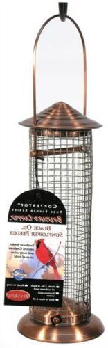 Woodlink Coppertop Black Oil Mini Screen Feeder Model COPSUN