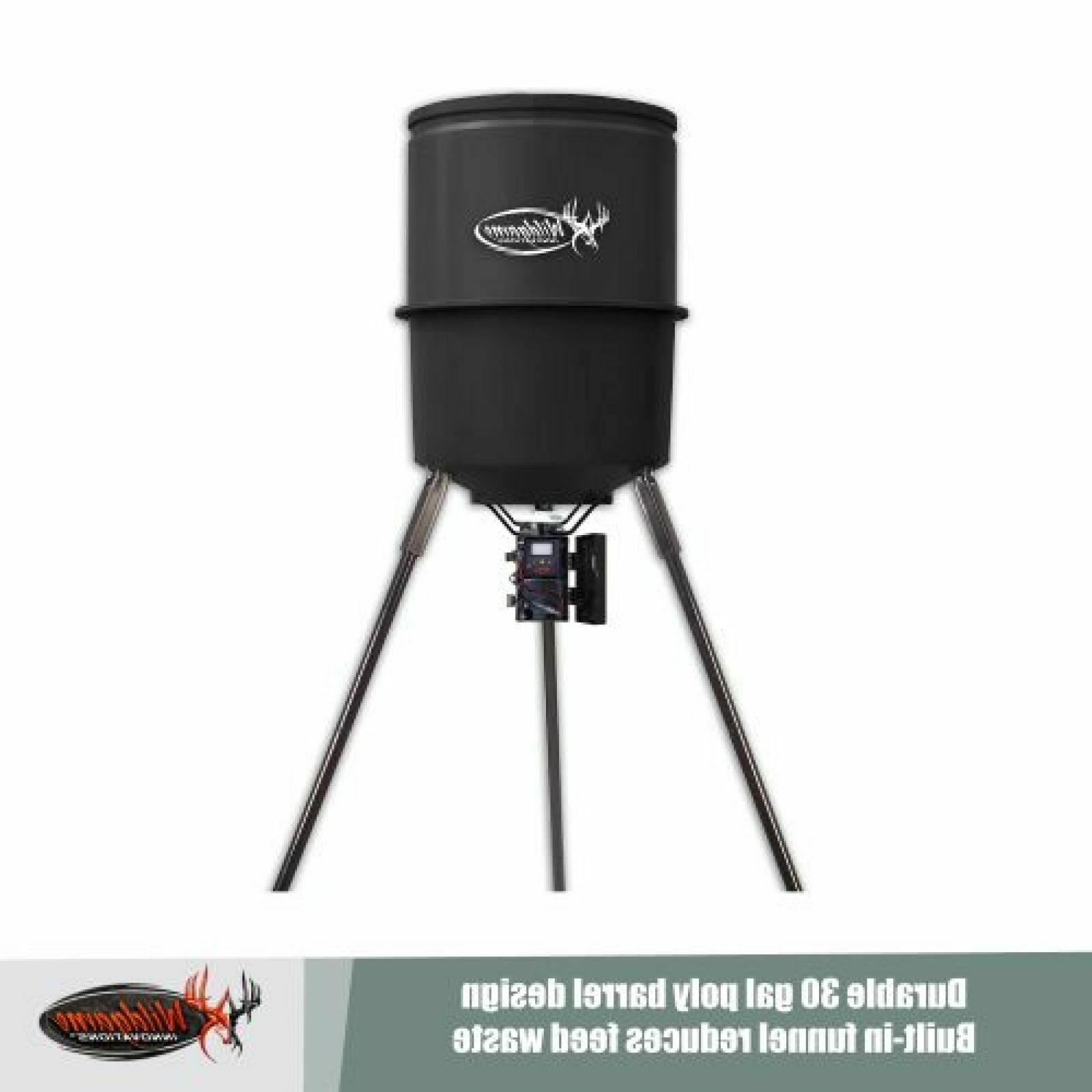 Deer Hunting Heavy Duty Outdoor Quick Set Game 30 Gal Digital Timer