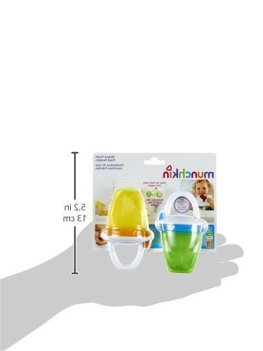 Munchkin Feeder, Yellow/Green, 2