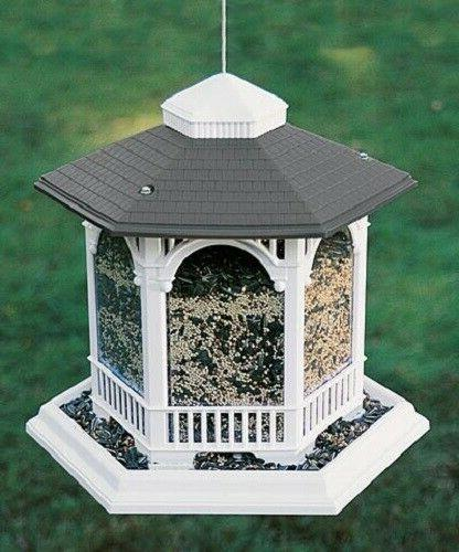 deluxe gazebo bird feeder by