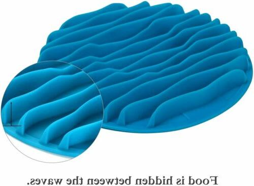 Dog Interactive Bloat Wave Bowl Eating Food Feeder