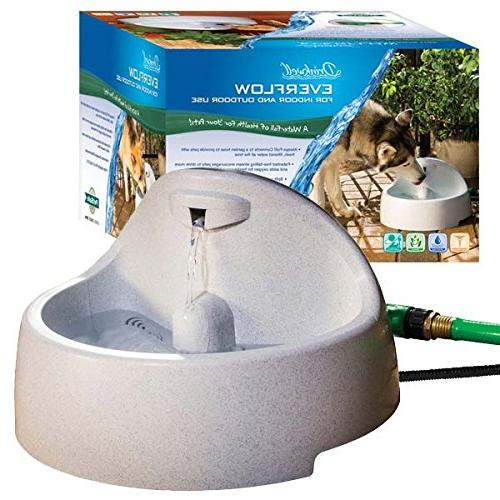 drinkwell everflow indoor pet fountain