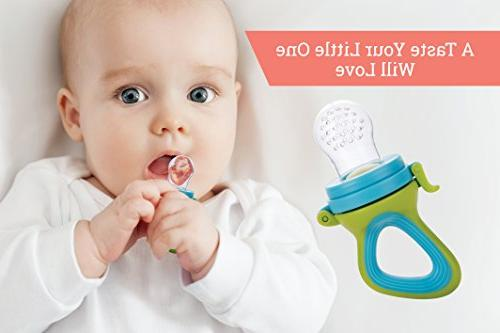 Fresh Feeding – Different Teething Pacifiers Baby Nibbler | Baby Feeding Toys Mesh Feeder | Baby