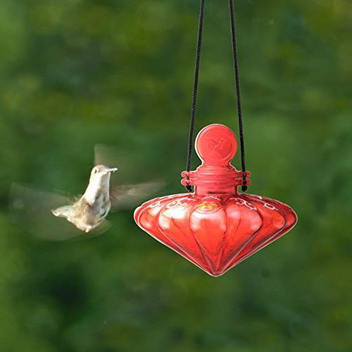 Cherry Valley Feeder Garden Gem Hummingbird 3 piece