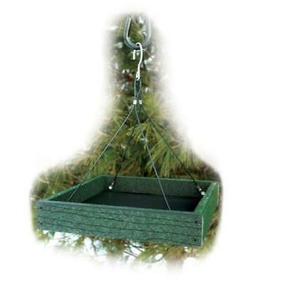 going green platform bird feeder