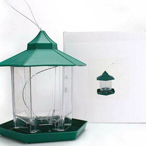 """Green Bird Feeder Seed Size: x 9"""" US N3O1A"""