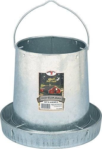 Miller Hanging Feeder W 12 Feed Pan 12 Pound - 9112